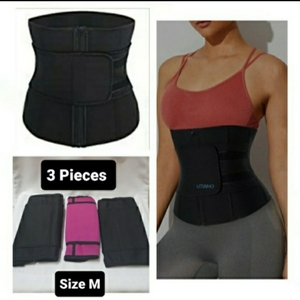Used Waist Belt for Slimming(Ladies) 3 Pieces in Dubai, UAE
