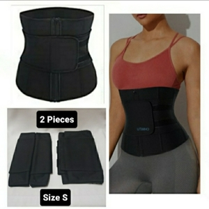 Used 2 Waist Slimming Belt with free Gift 🎁 in Dubai, UAE