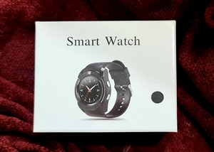 Used Smart watch with camera & calling 📞 in Dubai, UAE