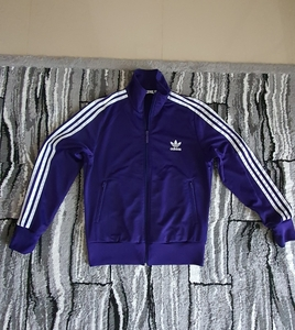 Used Adidas firebird track jacket women in Dubai, UAE