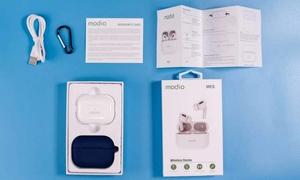 Used Earbuds modio original bass ele1 in Dubai, UAE