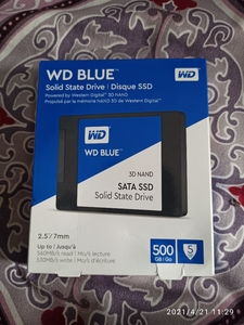 Used WD 500gb SSD brand new sealed pack in Dubai, UAE