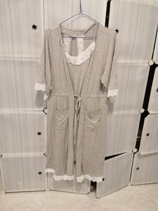 Used Night dress with robe size L in Dubai, UAE