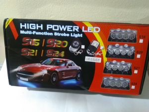 Used 24 LED Car Windshield strobe light in Dubai, UAE
