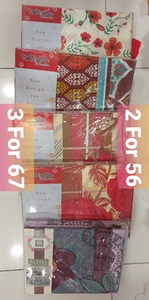 Used 3 Pieces Bed Sheets 2 for 56 or 3 for 67 in Dubai, UAE