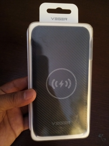 Used VEGER BLACK IN COLOR ORIGINAL POWERBANK in Dubai, UAE