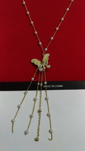 Used Very beautiful butterfly necklace in Dubai, UAE