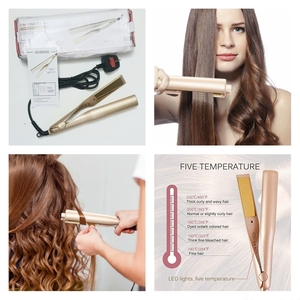 Used 2 In 1 Hair Straightener & Curler+Gift🎁 in Dubai, UAE