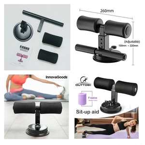 Used Portable sit-up Suction bar NEW♧ 2 PCS in Dubai, UAE