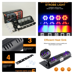 Used 24 LED Car Windshield Strobe Light NEW in Dubai, UAE