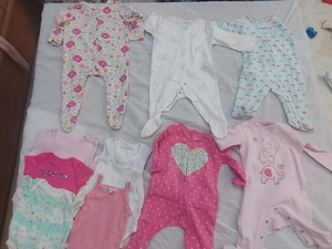 Used Baby clothes 1to 3m in Dubai, UAE