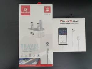 Used IPHONE EARPHONE/ ADAPTER in Dubai, UAE