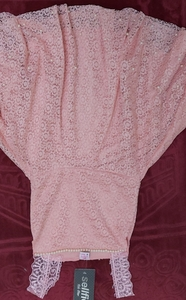 Used baby peach pink soft net dress. in Dubai, UAE