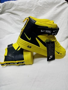 Used NIKE AIR HiCut Yellow in Dubai, UAE