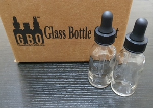 Used 30ml glass bottles with dropper 12pcsbox in Dubai, UAE