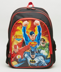 Used Justice league printed bag for kids (BN) in Dubai, UAE