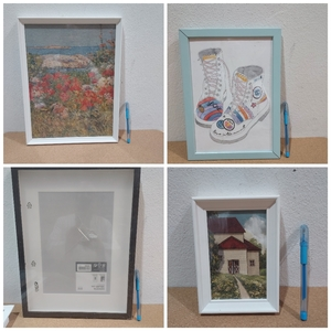 Used 9 ikea mix photo frame in Dubai, UAE