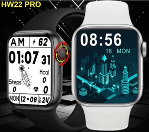Used CRAZY🌋 HW22 PRO 🌋 SMART WATCH ELE1 in Dubai, UAE