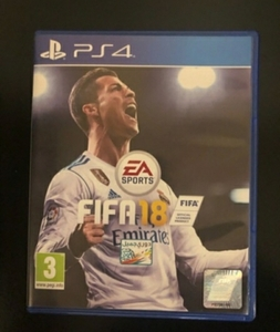 Used FIFA 18 PS4 for very cheap in Dubai, UAE