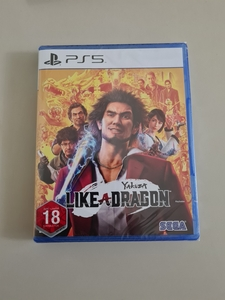 Used Yakuza Like A Dragon - PS5 - Sealed in Dubai, UAE