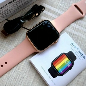 Used w6 smart watch in pink ELE1 in Dubai, UAE