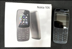 Used NEW PACK NOKIA 106 DUAL SIM MOBILE in Dubai, UAE