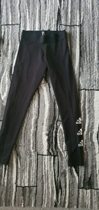 Used Adidas logo tights size S for women in Dubai, UAE