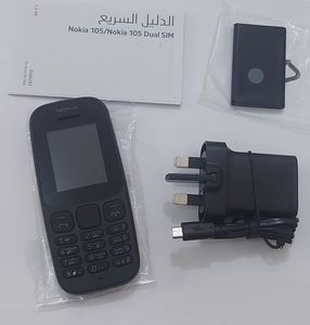 Used Nokia 105 made in Vietnam in Dubai, UAE