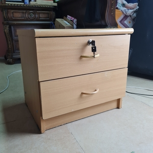 Used Wooden storage place (used) in Dubai, UAE