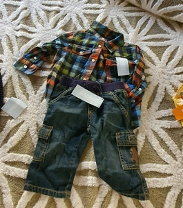 Used Gymboree set for baby boy in Dubai, UAE