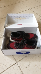 Used Sport shoes red USED in Dubai, UAE