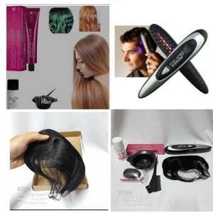 Used Hair Bundle (Colour+Laser Comb+Hair Wig) in Dubai, UAE