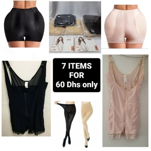 Used Ladies 7 Item Bundle (Gown+Stocking+Hip) in Dubai, UAE