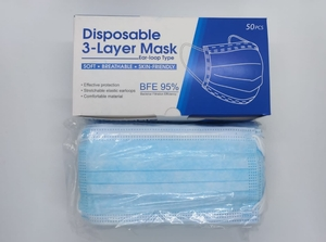 Used 3 ply face mask 60 box in Dubai, UAE