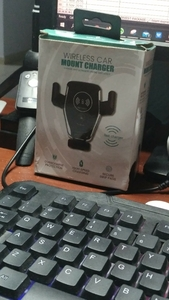 Used Car wireless mobile holder charger ele1 in Dubai, UAE
