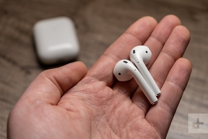 Used Apple airpods 2 buy one get one half in Dubai, UAE