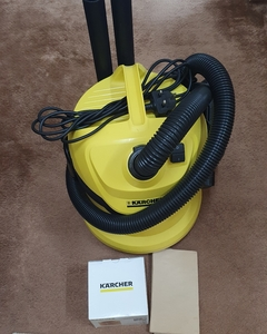 Used Karcher vacuum cleaner 2 new filters in Dubai, UAE