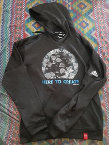 Used Original Adidas hoodie (used) in Dubai, UAE
