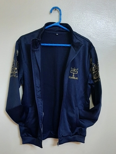Used 2 pcs track suit for him in navy blue ! in Dubai, UAE