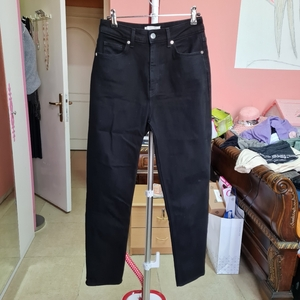 Used H&M Black jeans size eur38 uk10 in Dubai, UAE