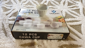 Used Arabic coffe cups 12pcs new in Dubai, UAE