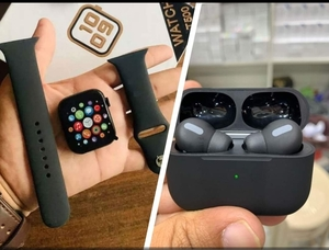 Used SmartWatch + Airpod Pro Combo Deal 🔥 in Dubai, UAE