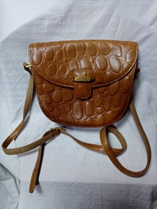 Used Brown Leather Sling Bag in Dubai, UAE