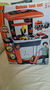 Used Kids tool toy set in Dubai, UAE