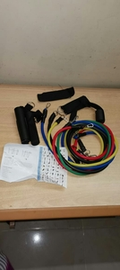 Used 11 Piece Adjustable Resustance Band Set in Dubai, UAE