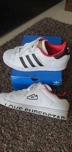 Used Adidas superstar shoes size 38 in Dubai, UAE