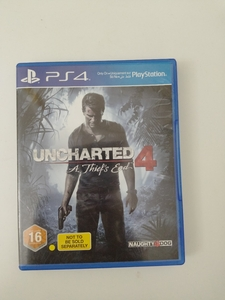 Used PS4 unchartered game in Dubai, UAE