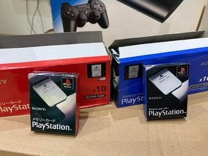 Used PS1 Memory Card Original New in Dubai, UAE