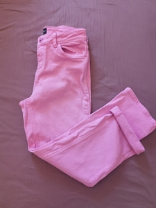 Used Pink jeans size M in Dubai, UAE
