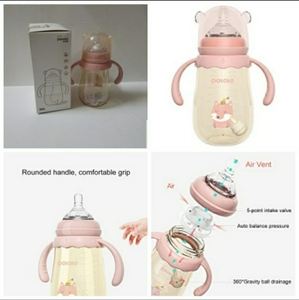 Used Apple bear milk and water bottle combo in Dubai, UAE